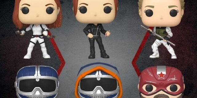 Marvel's Black Widow Movie Gets Its First Funko Pops