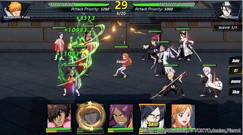 Bleach Immortal Soul - Gameplay Screen 2