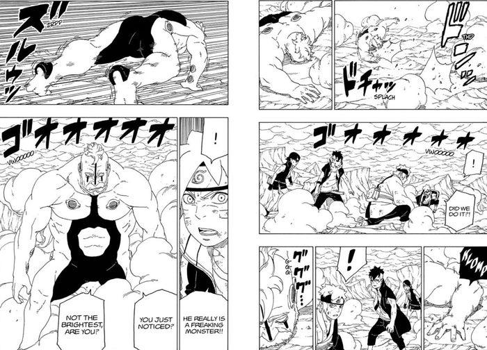 Boruto Manga 42 Kara Boro Healing Powers Explained Scientifc Ninja Tools