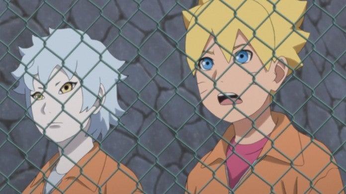Boruto Naruto Mitsuki Hozuki Castle Prison Anime