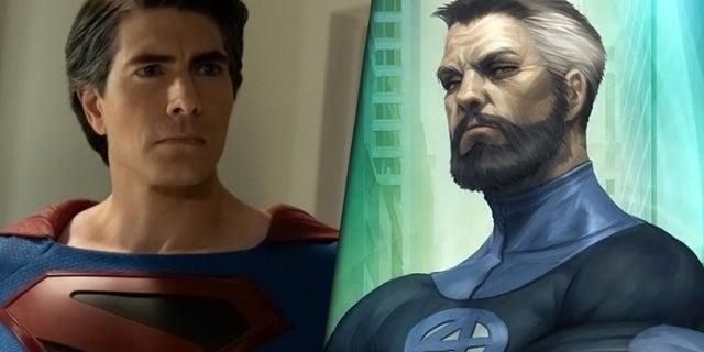 Fantastic Four Fan Art Imagines Superman's Brandon Routh as Mister Fantastic