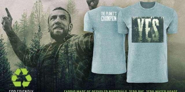 WWE Releases New Daniel Bryan Eco Friendly Shirt