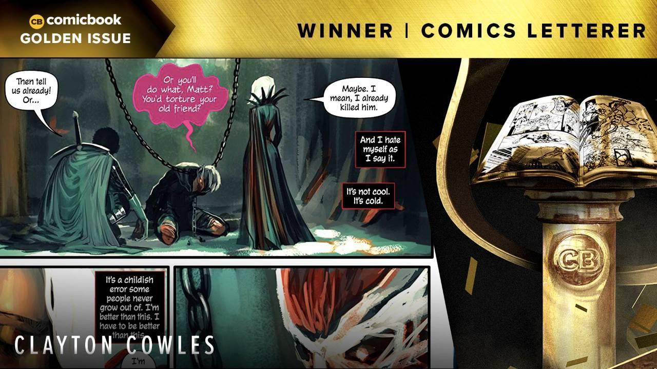 CB-Nominees-Golden-Issue-2018-Winner-Best-Comics-Letterer