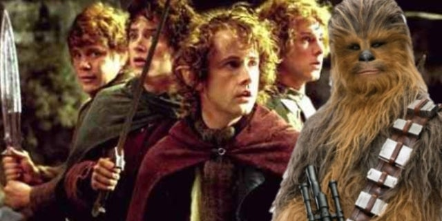 Star Wars: Chewbacca Actor Suffered a Hilarious Photo Fail with the Lord of the Rings Hobbits