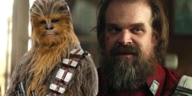 Star Wars: Chewbacca Actor Joonas Suotamo Is Excited to see David Harbour in Black Widow