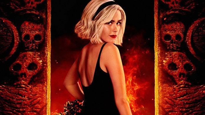 chilling adventures of sabrina poster part 3 kiernan shipka header