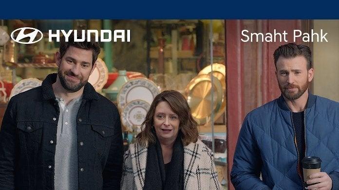 Chris Evans Hyundai Super Bowl Ad