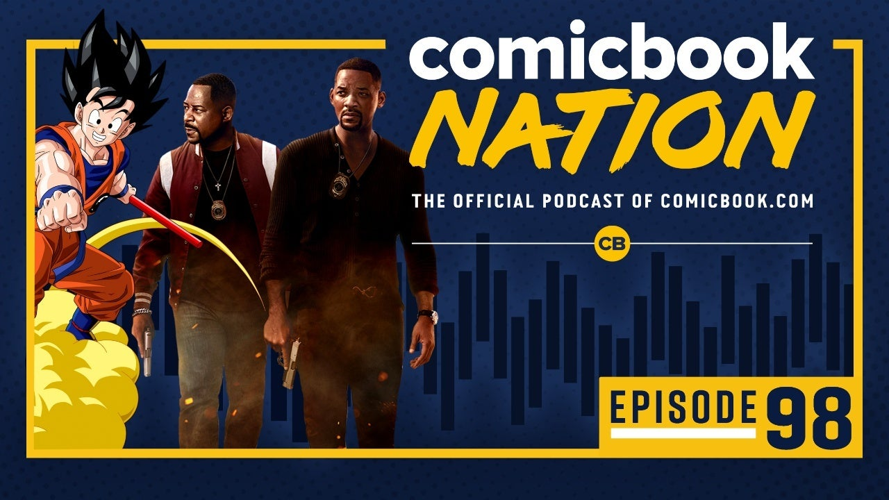 Comicbook Nation Podcast DC Crisis Infinite Earts Ending Spoilers Bad Boys 3 DBZ Kakarot dolittle reviews