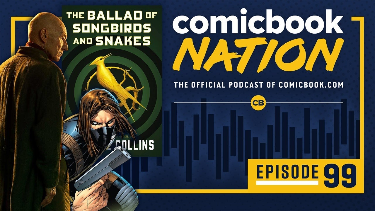 ComicBook Nation Podcast Star Trek Picard Reviews Marvel Thunderbolts Movie Hunger Games Prequel Snow