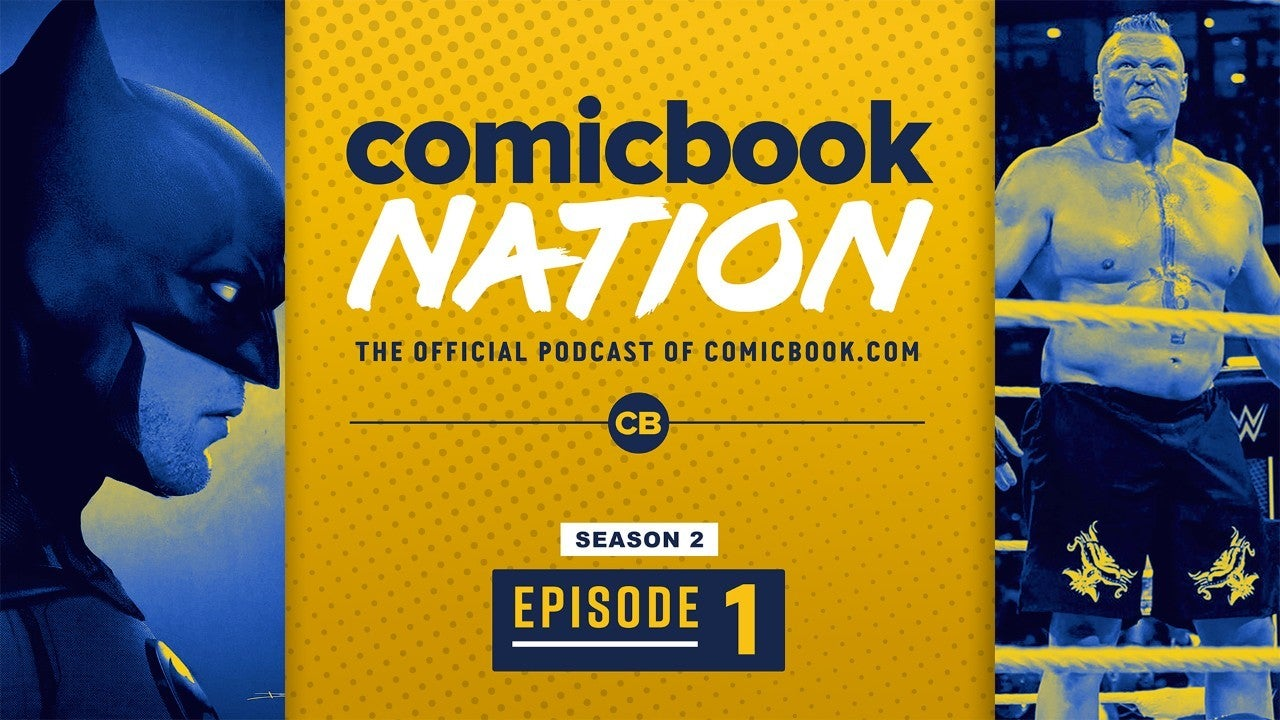ComicBook Nation Podcast The Batman Begins Production WWE Royal Rumble 2020 Recap Transformers Beast Wars Movie