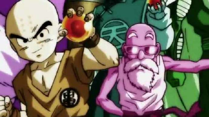 DBZ Krillin Anime