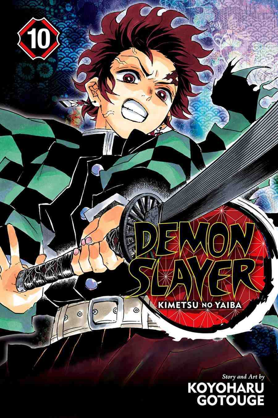 Demon Slayer Kimetsu no Yaiba Vol 10 Human and Demon