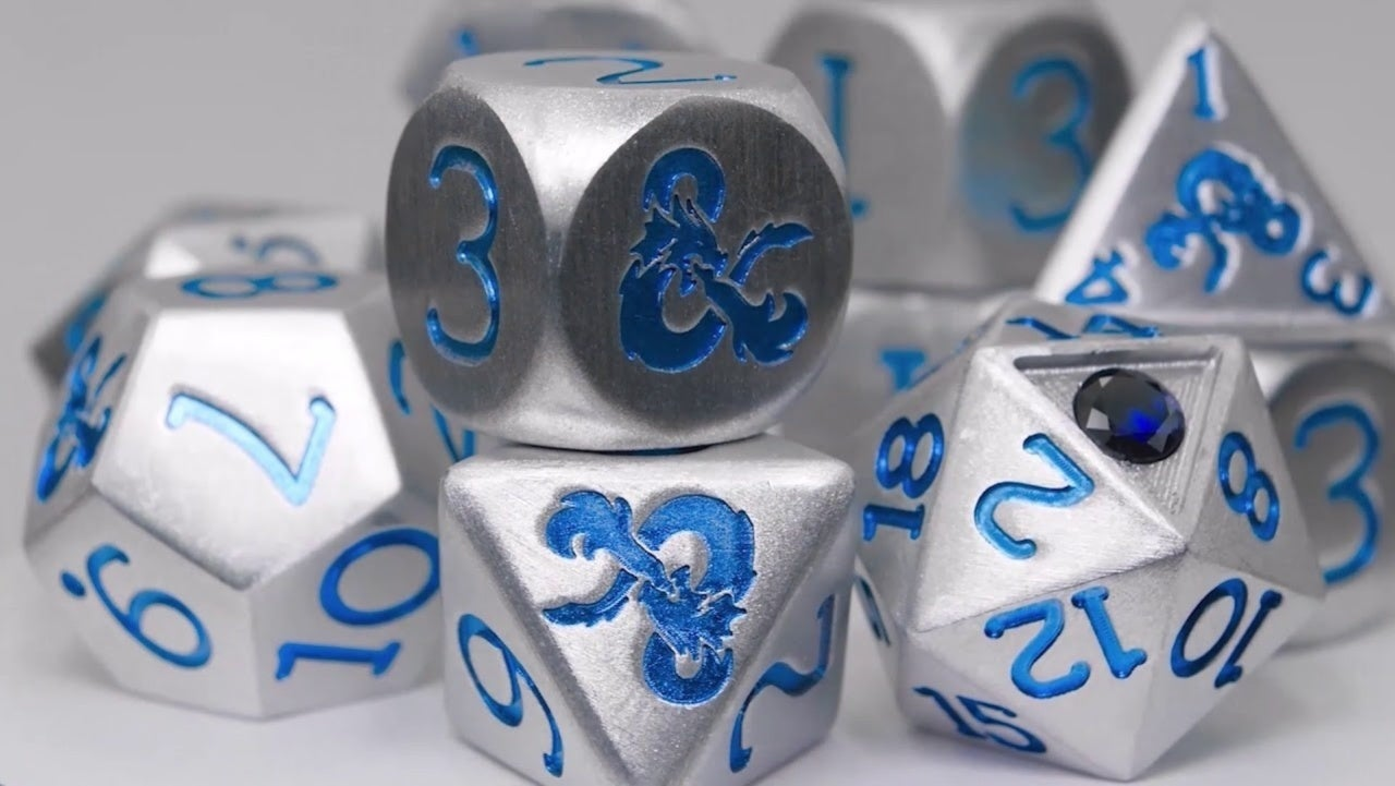 Rolling With a $300 Set of Dungeons & Dragons Dice