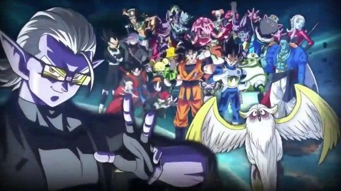 Dragon Ball Heroes Big Bang Arc New Characters Time Patrol villains Tokitoki