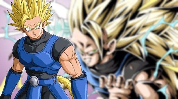 Dragon Ball Legends Super Saiyan 3 Shallot Anime Art