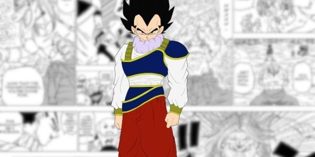 Dragon Ball Super Manga 55 Vegeta vs Yuzun Fight New Powers