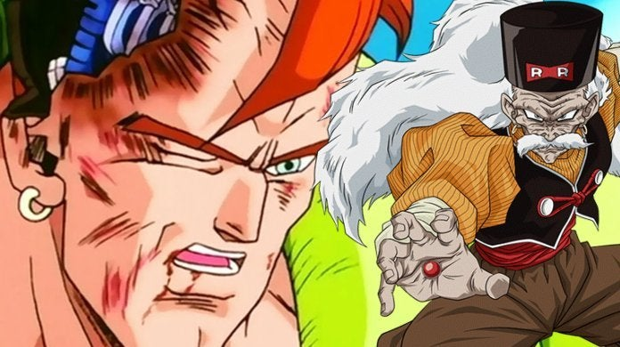 Dragon Ball Z Dr Gero Android 16