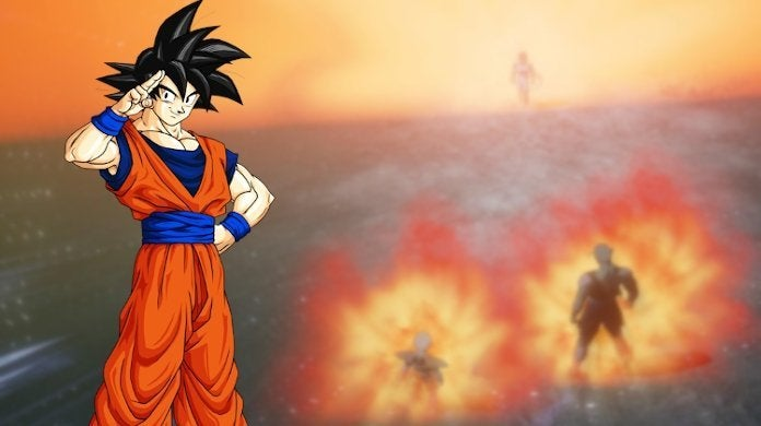 Dragon Ball Z Kakarot Game Goku Ki Sense Mode Power Levels View