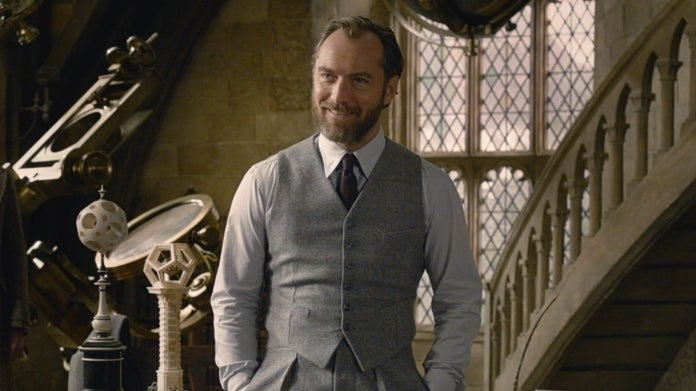 Dumbledore Jude Law Fantastic Beasts 2
