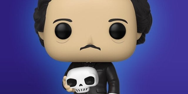 Funko's Edgar Allan Poe With Skull Pop Figure is Live