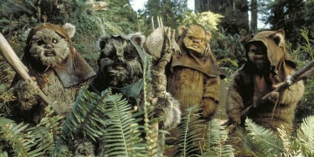 New Space Force Uniforms Have Star Wars Fans Worried That War With Ewoks on Endor Is Coming