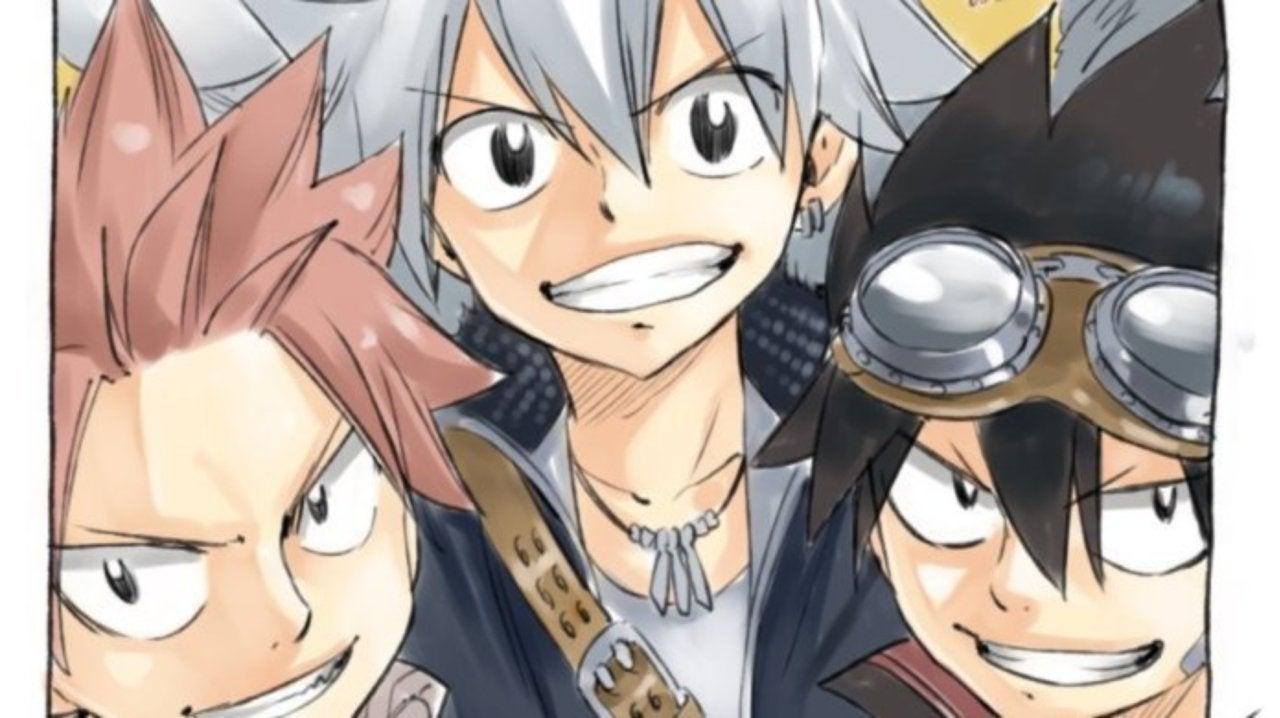 JAPAN Hiro Mashima manga Rave x Fairy Tail x Edens Zero Mashima Hero/'s