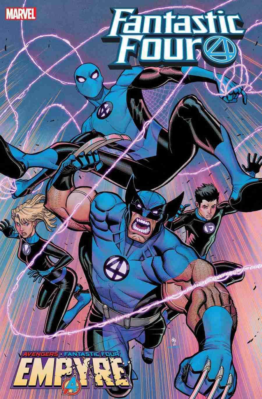 Fantastic Four Marvel Wolverine Spider-Man