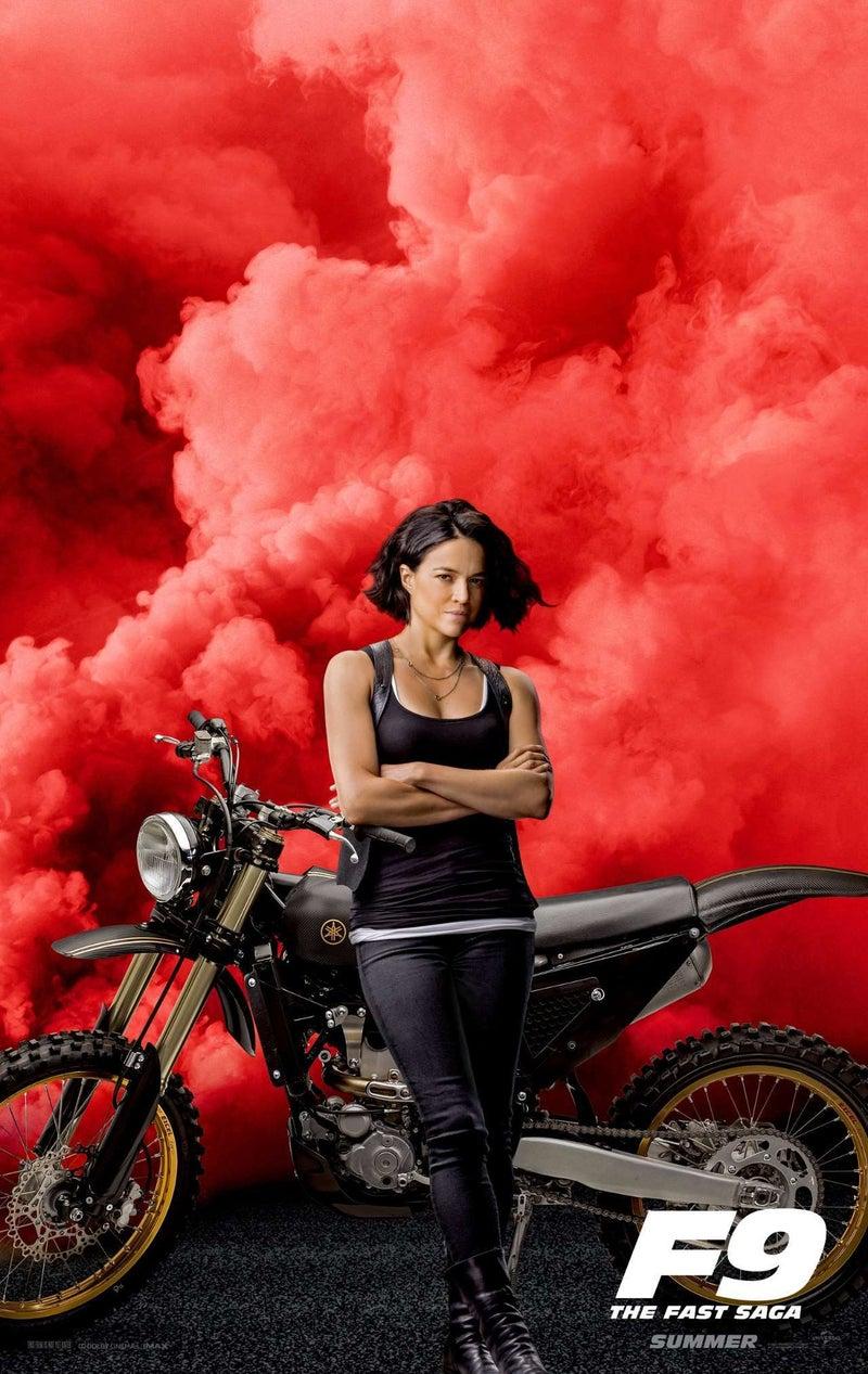 Velozes e Furiosos 9 - Michelle Rodriguez como Letty Ortiz