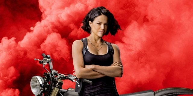 Fast Furious 9 Posters - Michelle Rodriguez as Letty Ortiz
