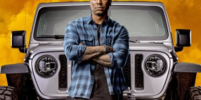 Fast Furious 9 Posters - Tyrese Gibson as Roman Pearce