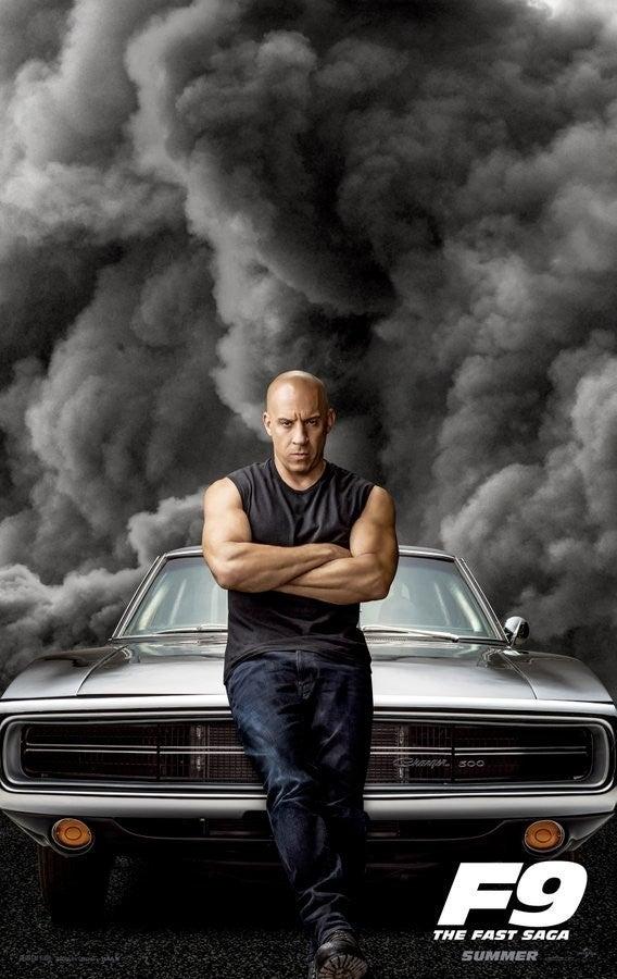 Velozes e Furiosos 9 - Vin Diesel como Dominic Toretto