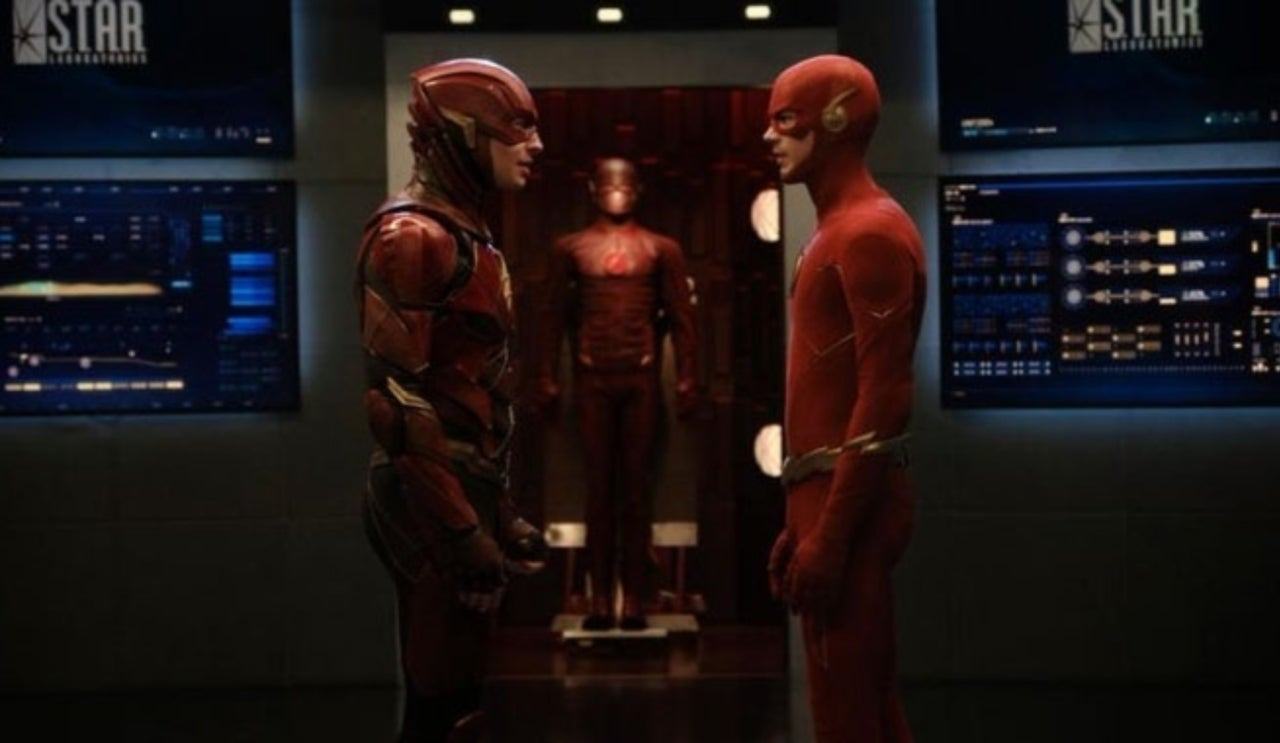 Does Ezra Miller's Crisis On Infinite Earths Cameo Reveal a Major Flash Movie Detail?