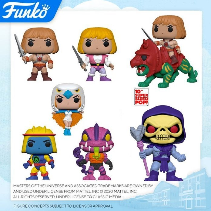 Masters of the Universe-Webstor Animation Funko Pop