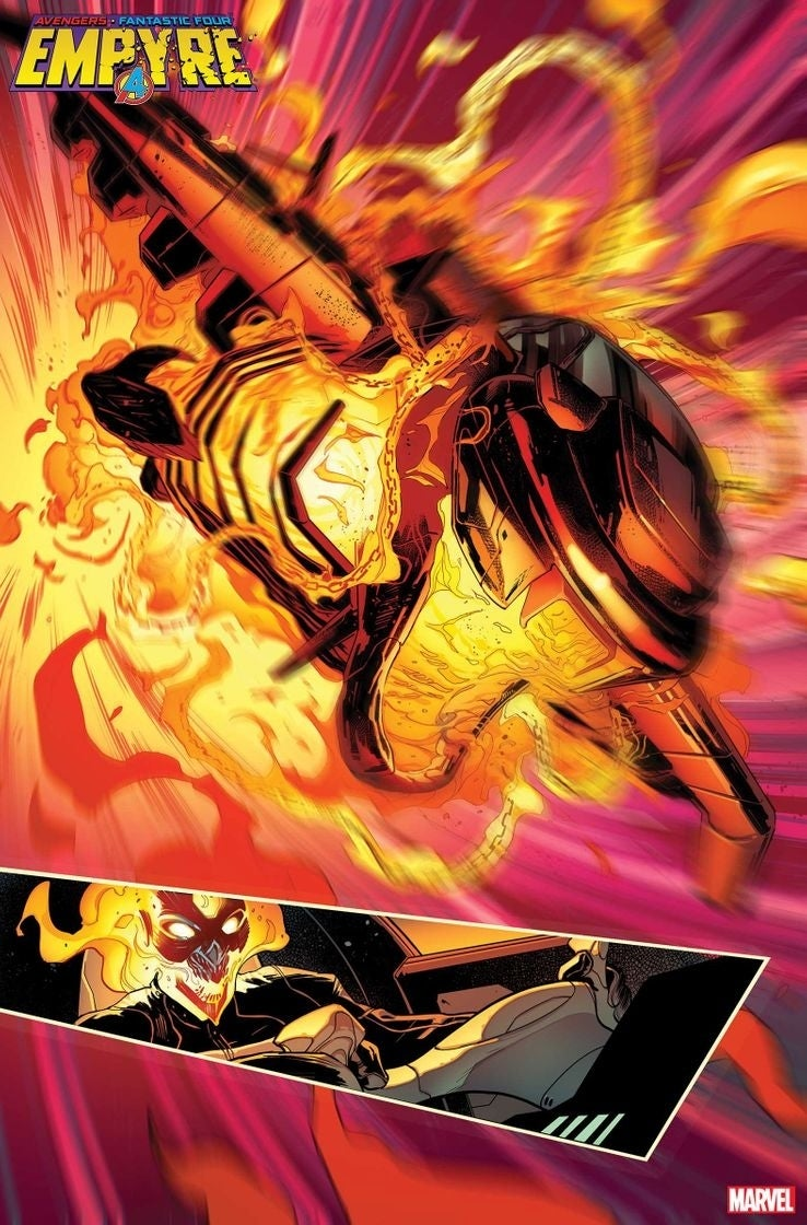 ghost rider spaceship