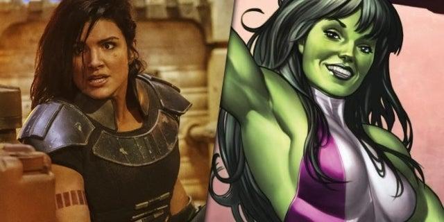 The Mandalorian: Here's What Gina Carano Would Look Like as She-Hulk