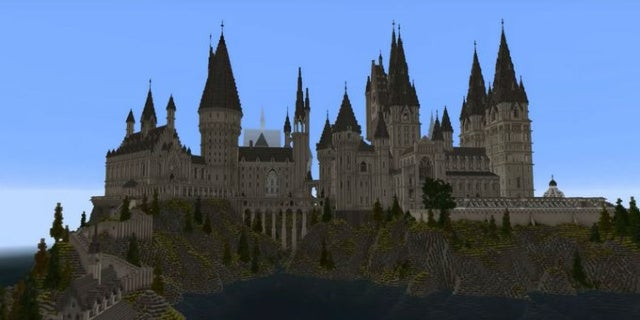 Image result for Harry Potter-inspired Minecraft map could be a standalone game