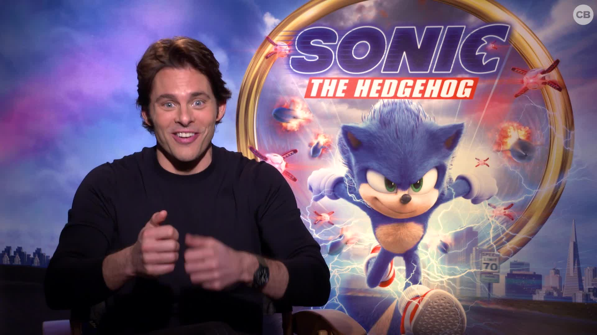 James Marsden Talks Sonic the Hedgehog screen capture