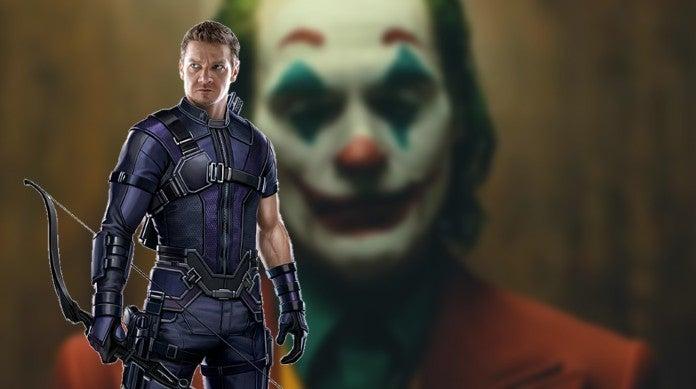 Jeremy Renner Joker Makeup Facepain Daughter Ava