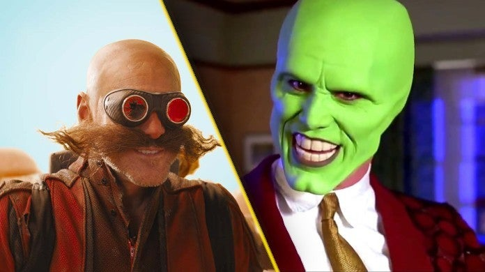 jim carrey the mask 2 sonic the hedgehog