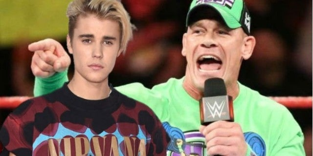John Cena and Justin Bieber Throw Jabs at Each Other on Social Media