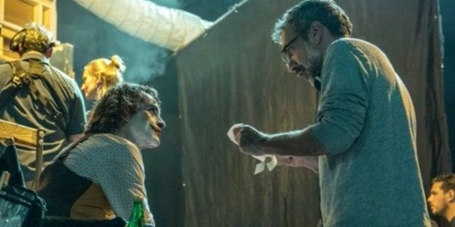 Joker Movie director Todd Phillips Joaquin Phoenix