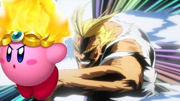 Kirby All Might