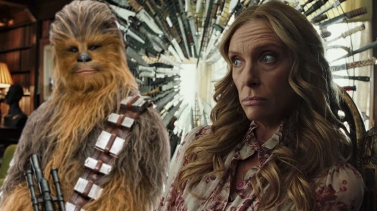 Star Wars: Chewbacca Actor Joonas Suotamo Praises Rian Johnson's Knives Out