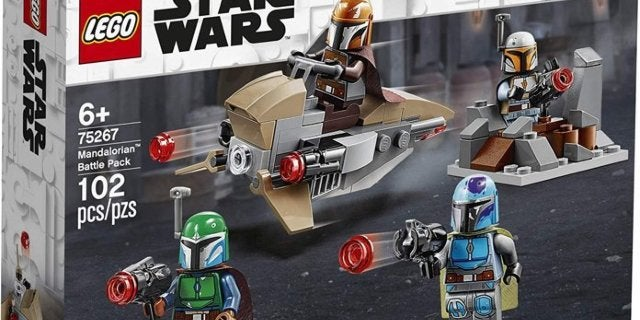 LEGO Star Wars The Mandalorian Battle Pack is Back In Stock