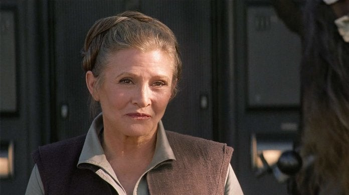 Leia Carrie Fisher Star Wars The Force Awakens