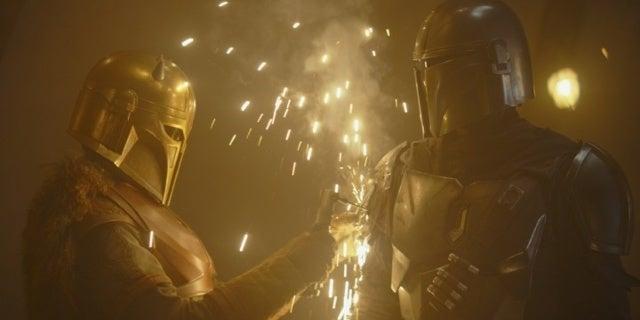 "Star Wars: The Mandalorian Star Emily Swallow Calls Season 2 ""Unexpected"""