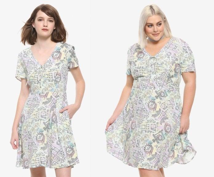 marauders-map-dress