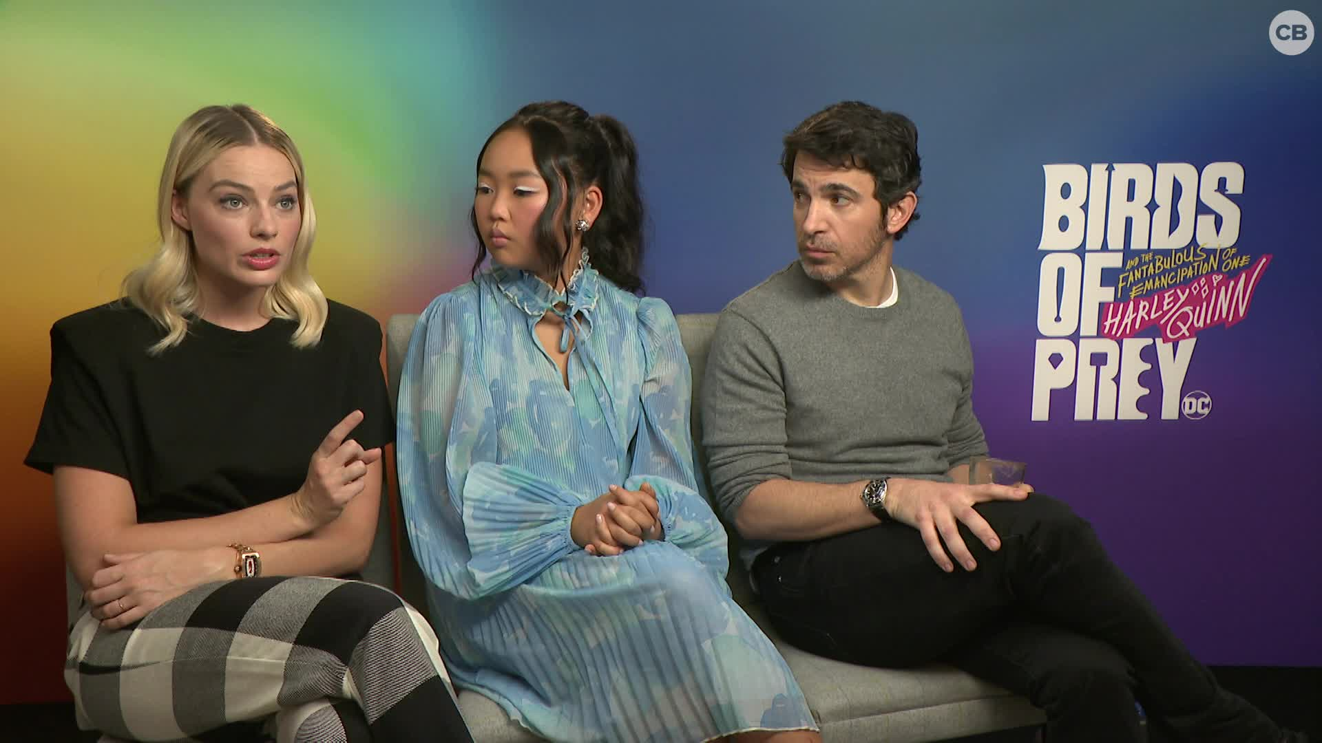 Margot Robbie, Ella Jay Basco and Chris Messina Talk BIRDS OF PREY screen capture