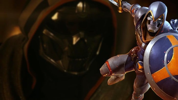 Marvel Black Widow Movie Taskmaster Costume Mirroring Powers FacePlate