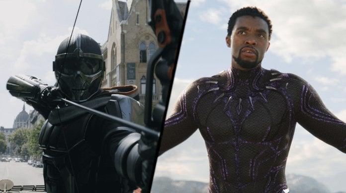 Marvel lack Widow Taskmaster Black Panther